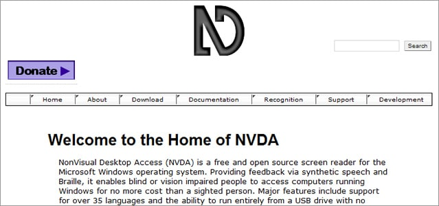free screen readers for visually impaired
