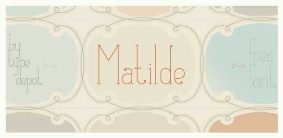 free-fonts-commercial-personal-use-08-Matilde