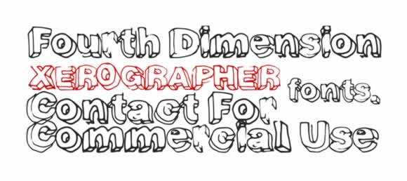 free-fonts-commercial-personal-use-10-fourth-dimension